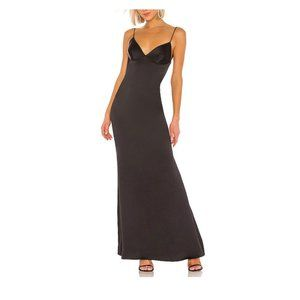 Katie May Dress Black Slip Sexy Gown
